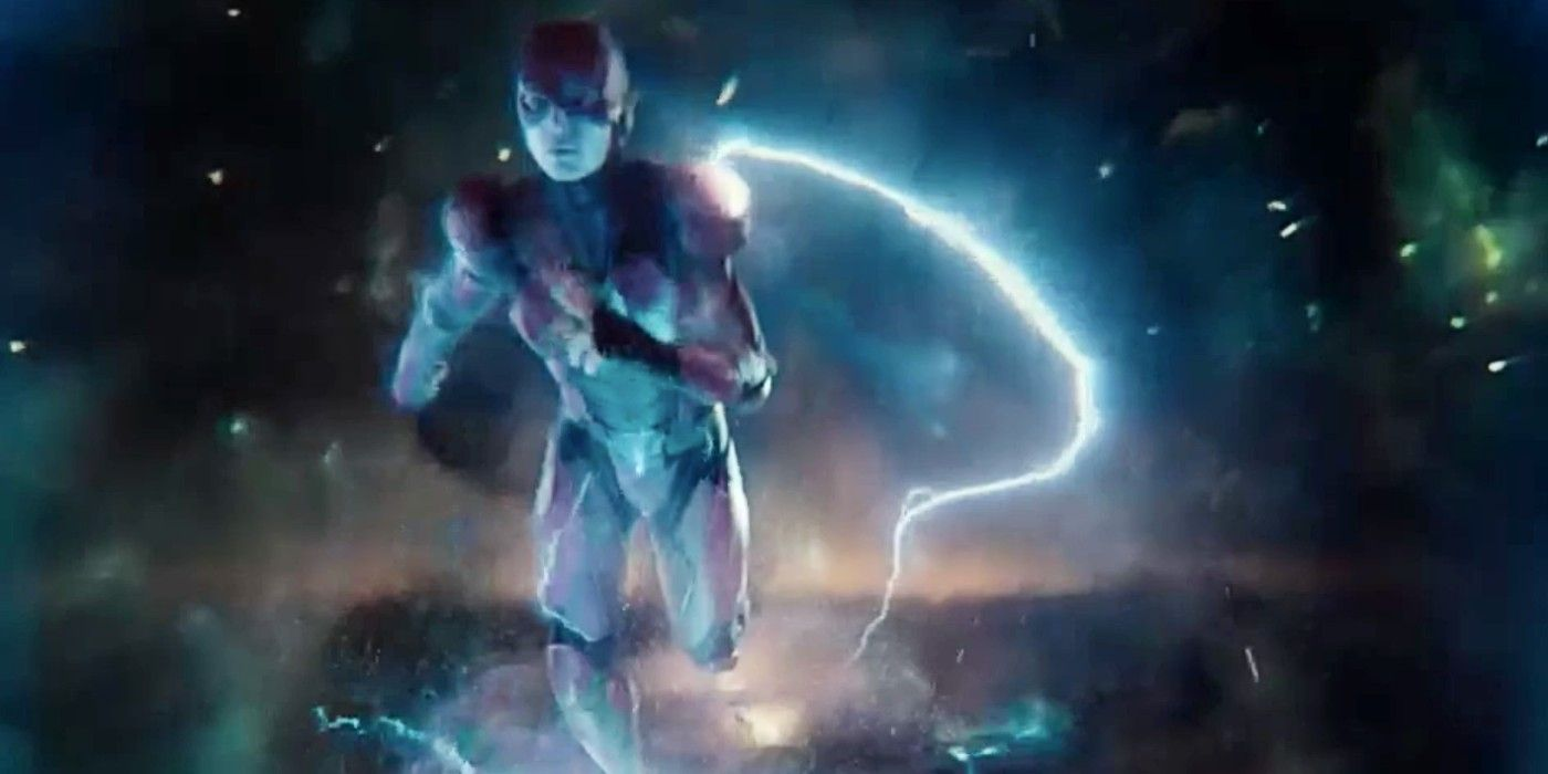 "The Flash entering the Speed Force in Justice League Snyder Cut - Huevos de Pascua y referencias de la ""Liga de la Justicia de Zack Snyder"""