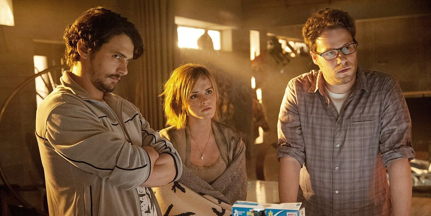 Seth Rogen Clarifies That Emma Watson Didn't Storm Off The This Is The End Set