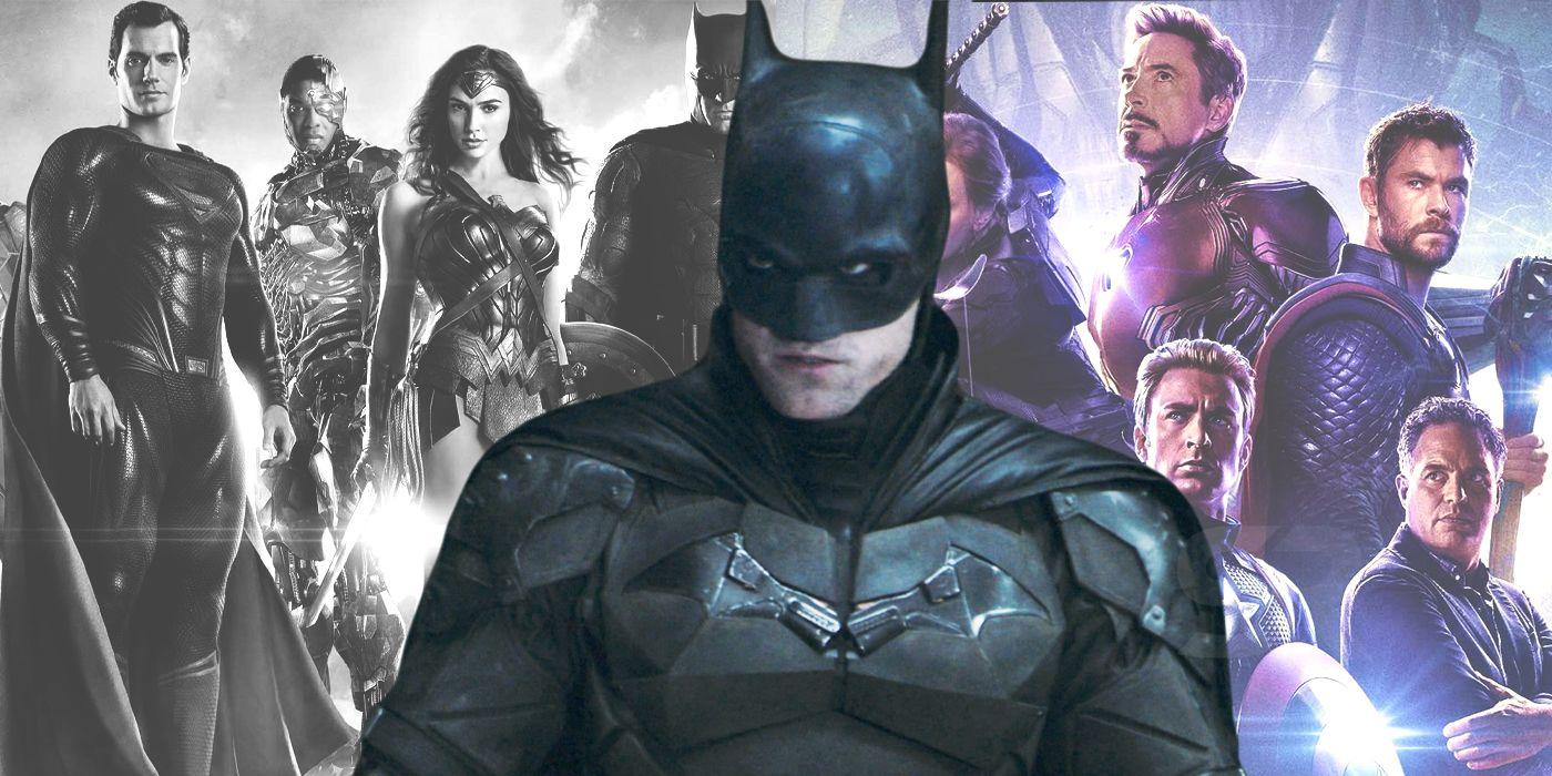 The DCEU Shouldn't Copy The MCU, But The Batman Movies Should