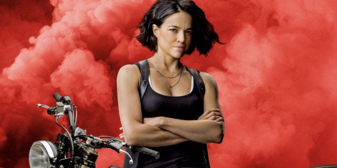 F9 Image Shows Michelle Rodriguez S Letty Motorcycle Stunt Geeky Craze