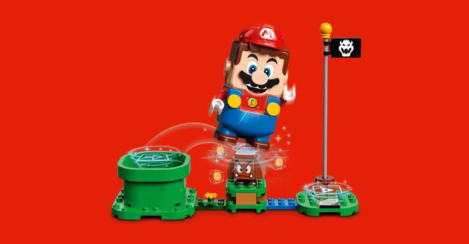 Super Mario Lego: Mario chama por Luigi após a atualização!