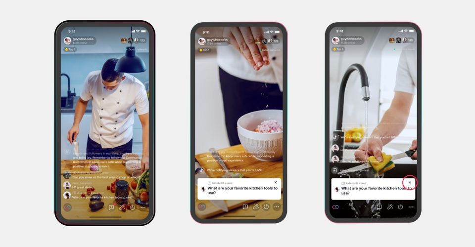 Tiktok S Tips For Going Live With Great Broadcasts Screen Rant