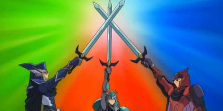 Yu-Gi-Oh!'s Legendary Knights Teaming Up