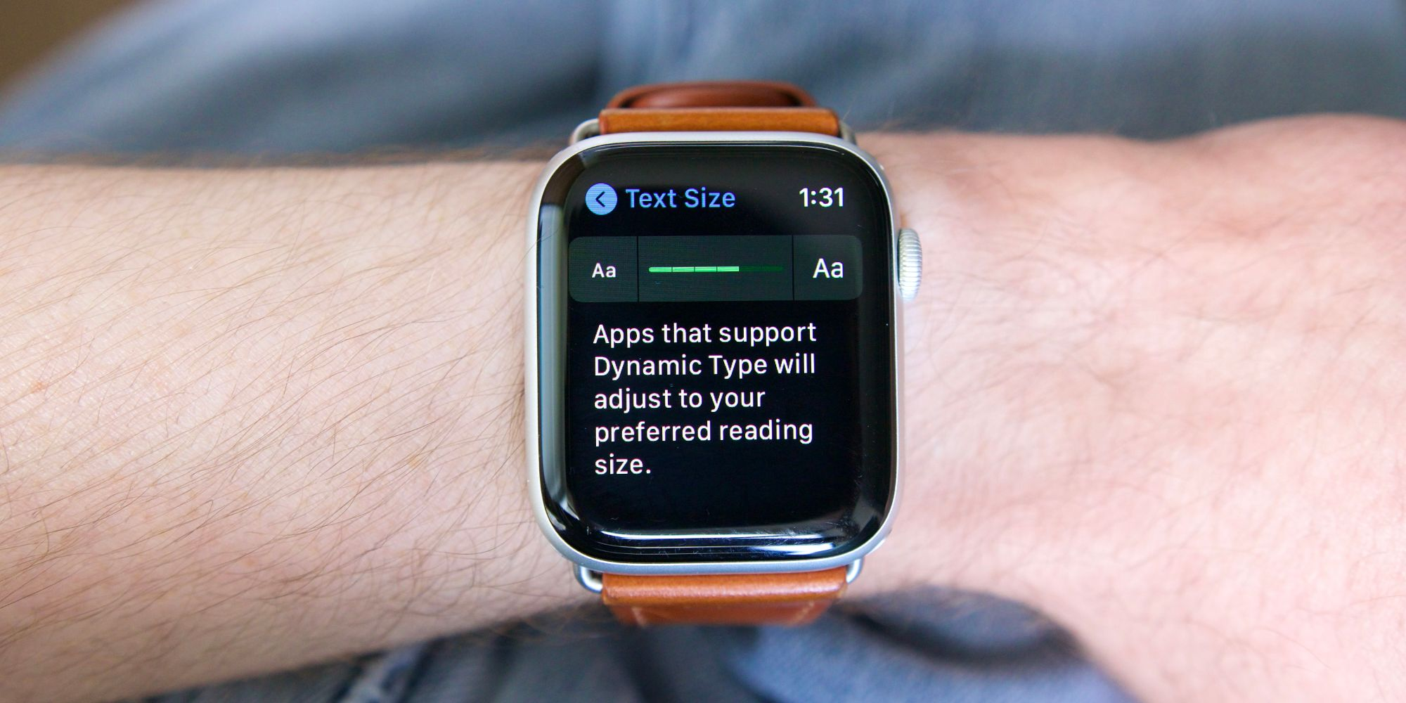 How To Change Apple Watch Font Size & Make Text Easier To Read