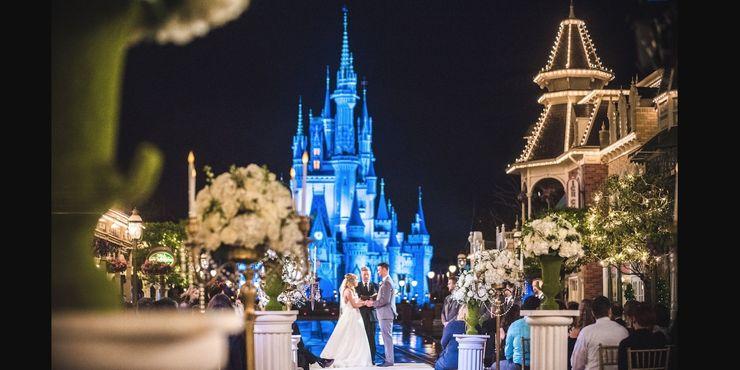 bodas y cuentos de hada disney