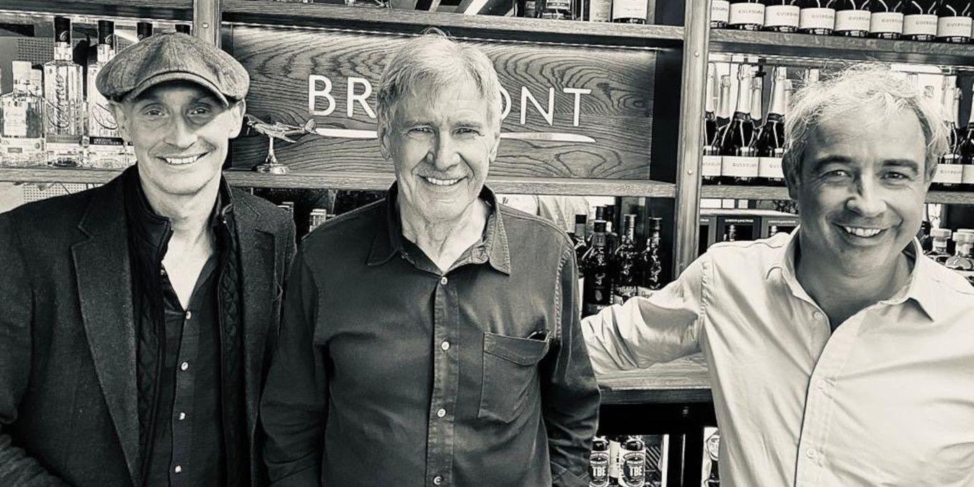 Harrison Ford Arrives In UK For Indiana Jones 5 Filming