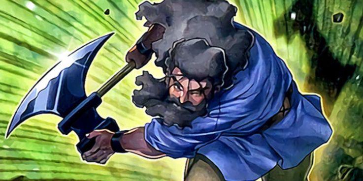 Yu-Gi-Oh! Iron Hans Card Art