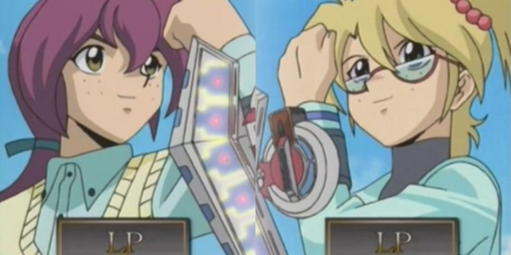 Yu-Gi-Oh! Rebecca Vs. Leon