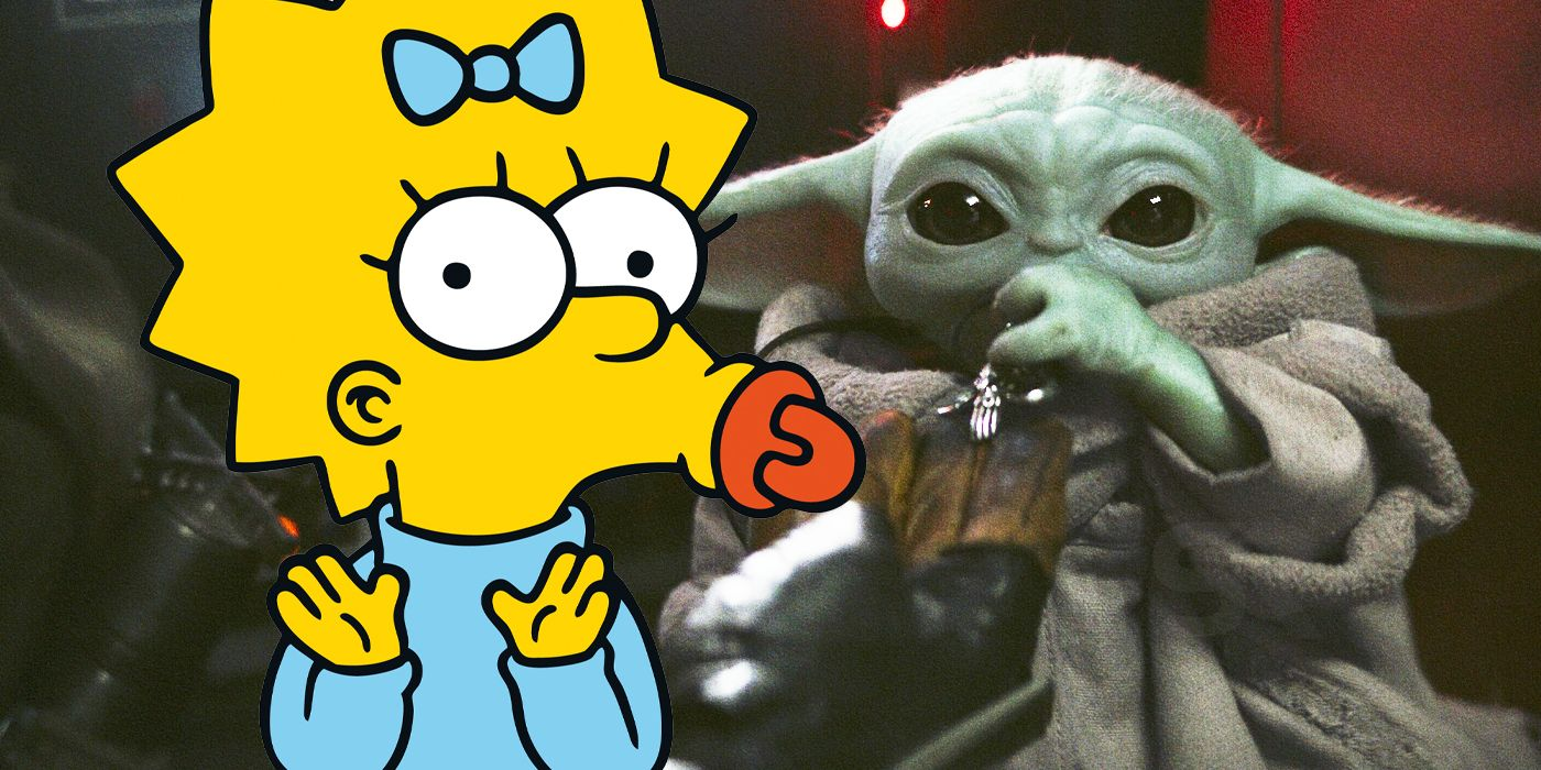 The Simpsons Star Wars Short Had to Follow This One Grogu Rule