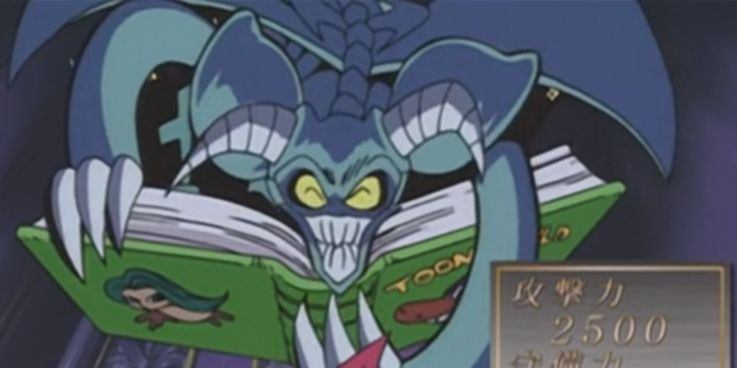 Yugioh Pegasus uses Toon Summoned Skull in his duel against Yugi