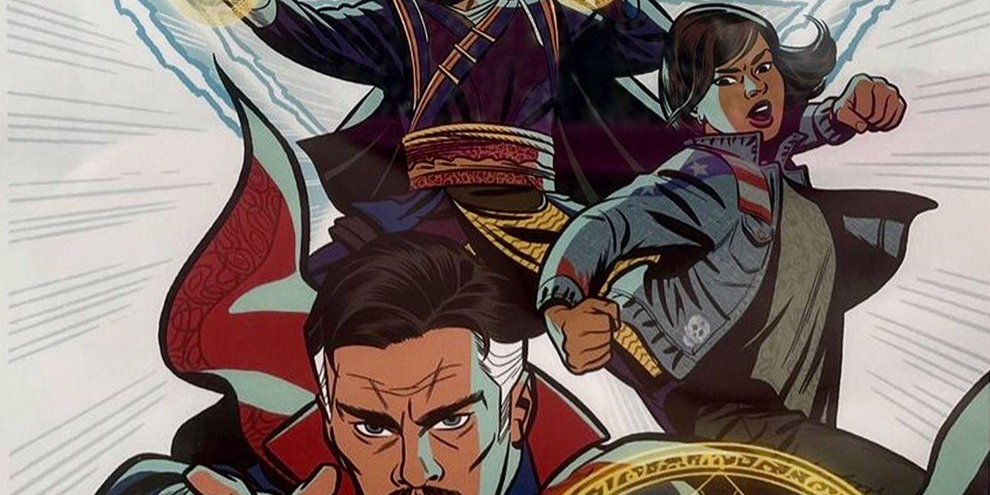 Doctor Strange 2 Art Reveals First Look At MCU America Chavez