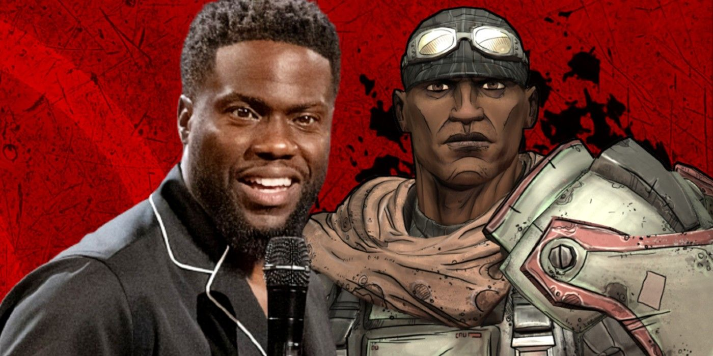 Kevin Hart Shows Off Borderlands Physique In Shirtless Photo