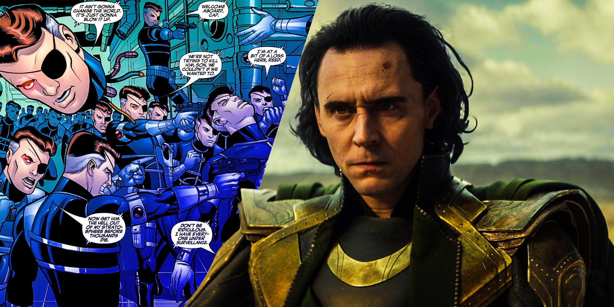 Loki References Agents of SHIELD's Best Marvel Comics Idea