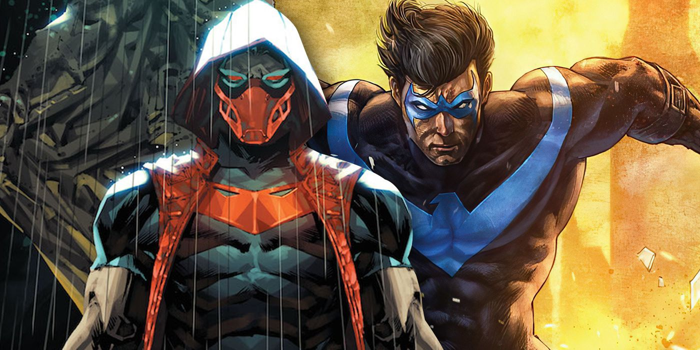 DC Teases How Nightwing Almost Became Red Hood Instead