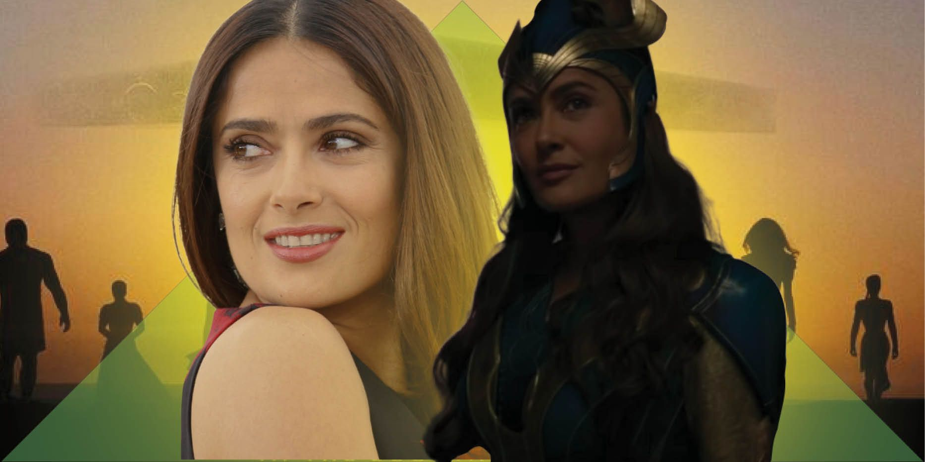 Eternals Was Stressful Because Of Marvel Secrecy Says Salma Hayek