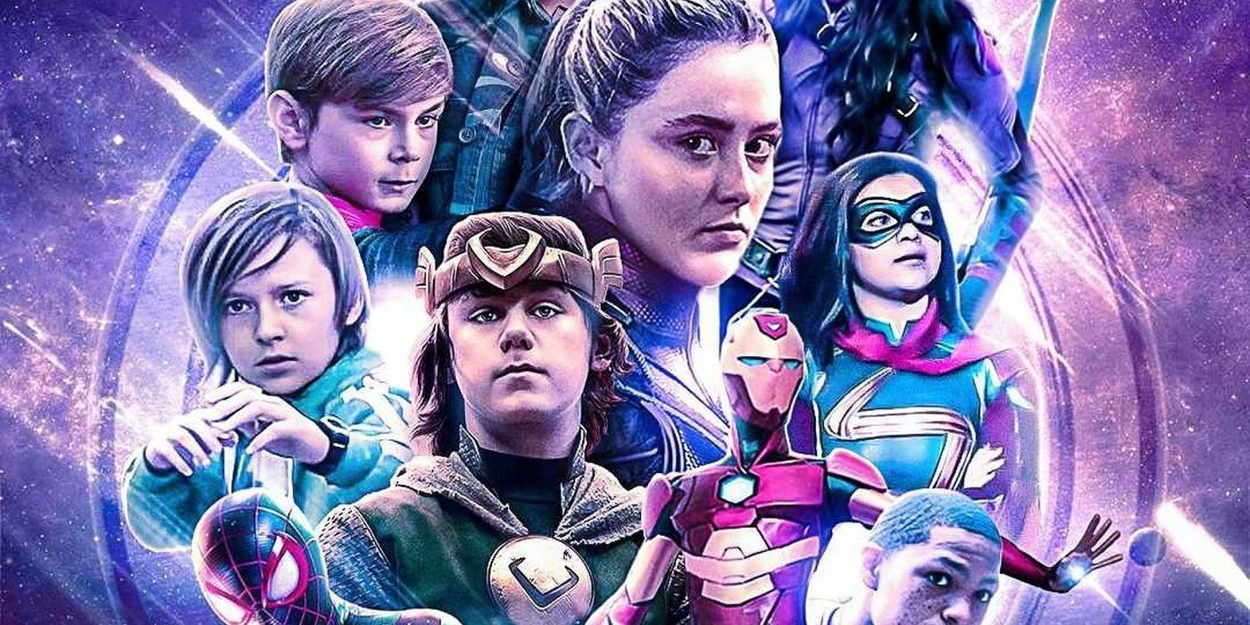 Young Avengers Fan Poster Brings Together MCU's Newest Heroes