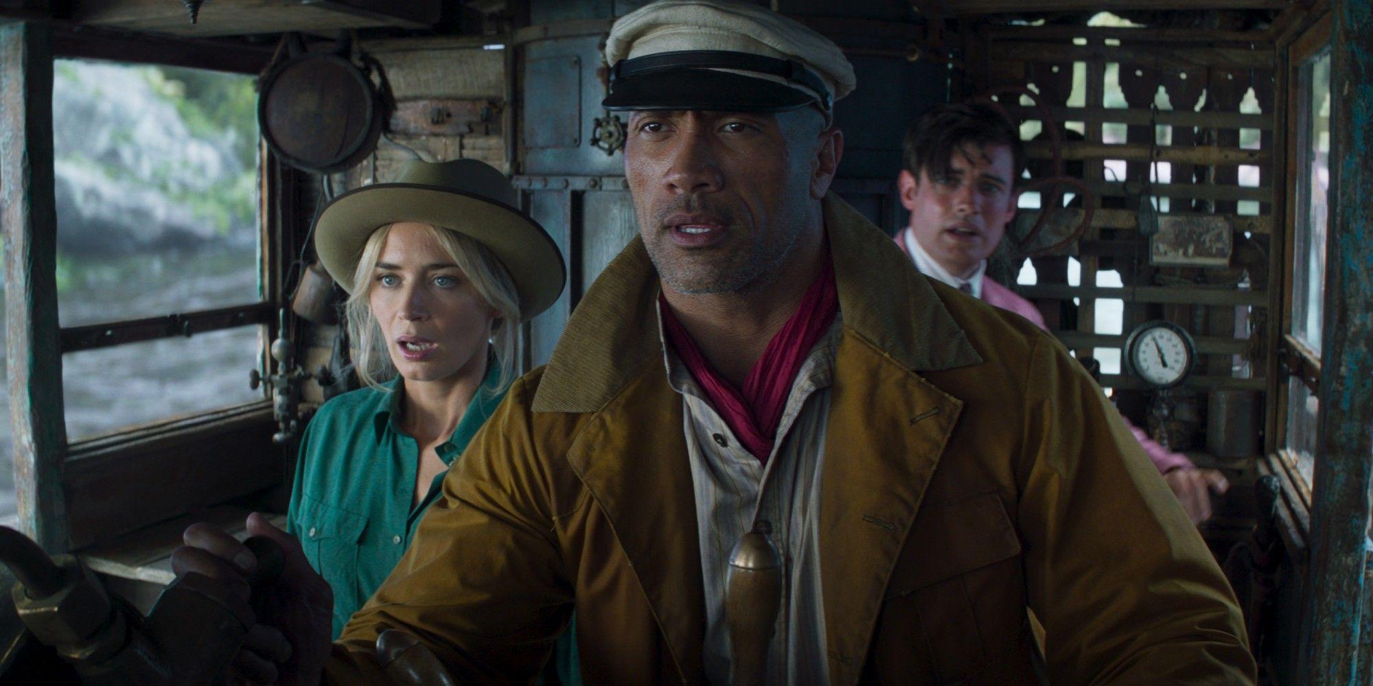 Jungle Cruise Box Office Preview Screenings Top Cruella