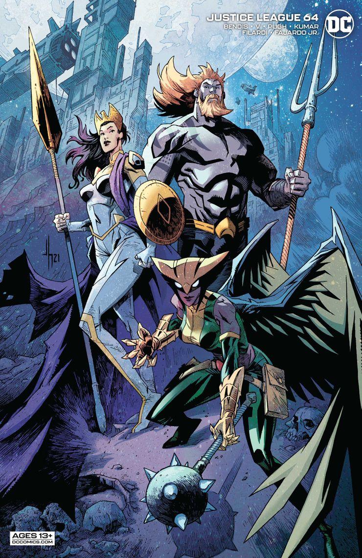 DC; Guadiões da Galáxia; Liga da Justiça