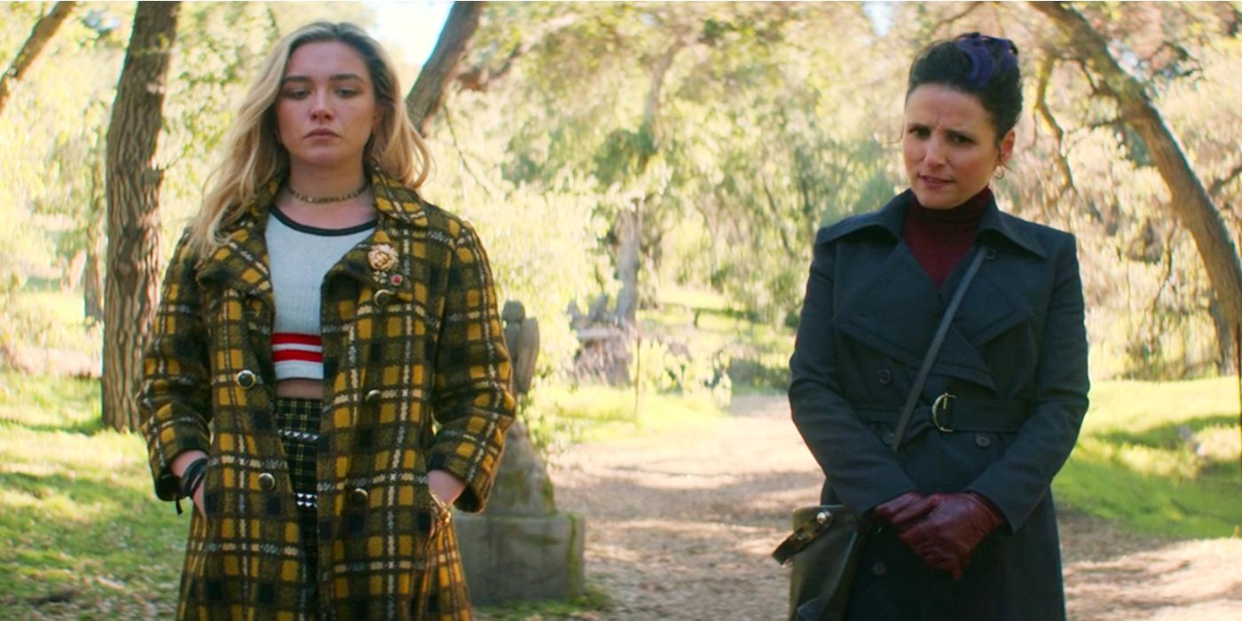 Florence Pugh Reacts to Black Widow's Post-Credits Scene