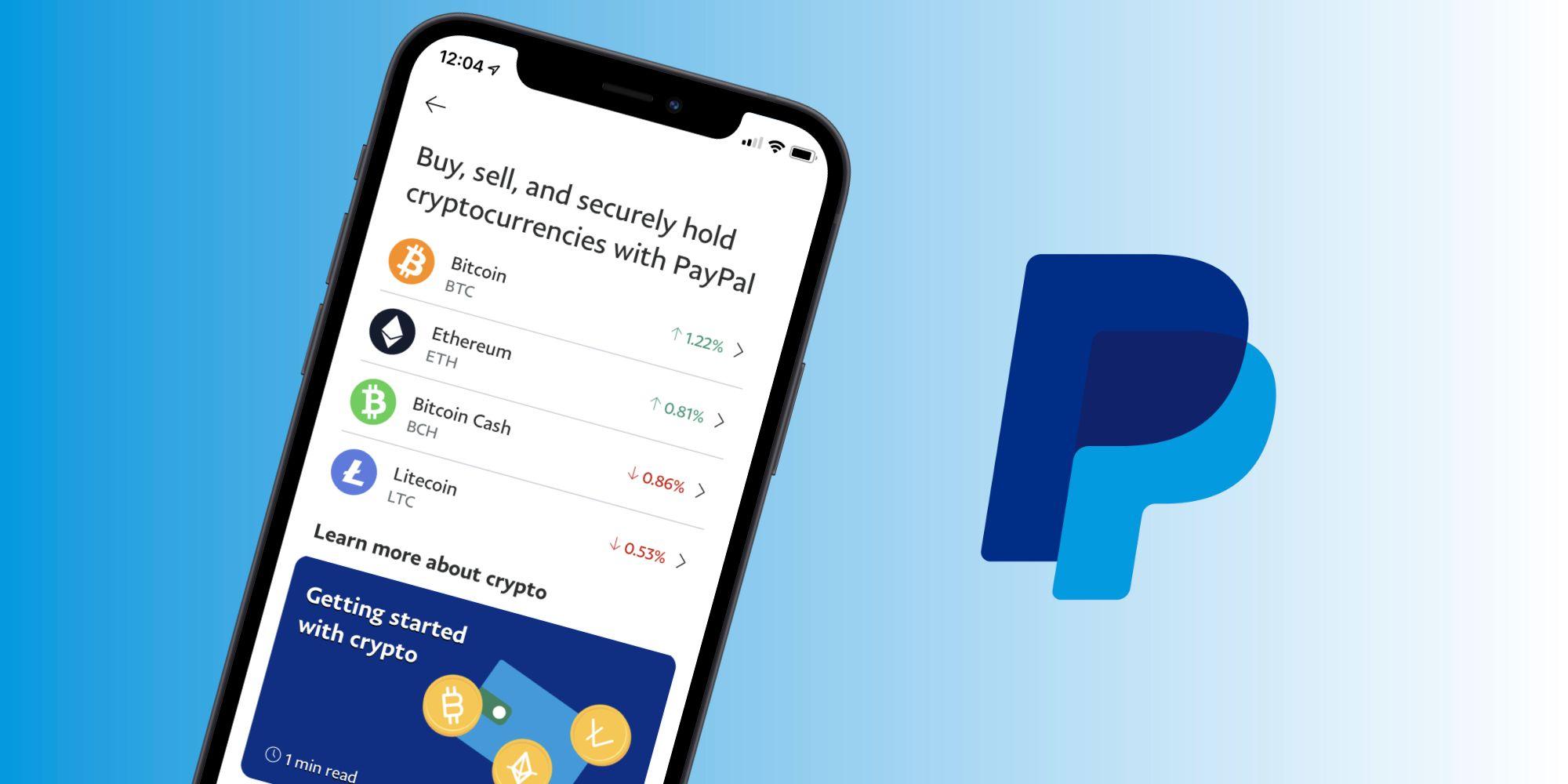 trade btc per paypal
