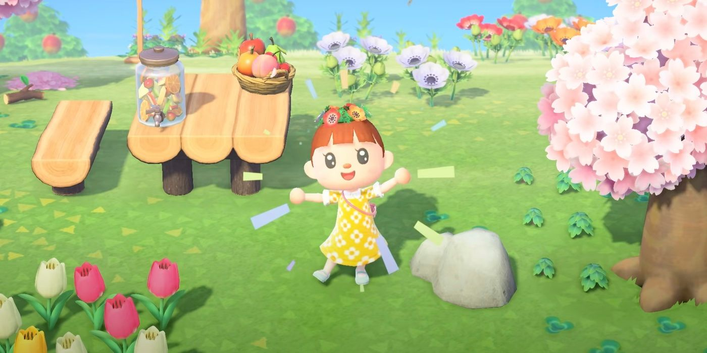 Fan-Made Animal Crossing Dress Is Incredibly Detailed