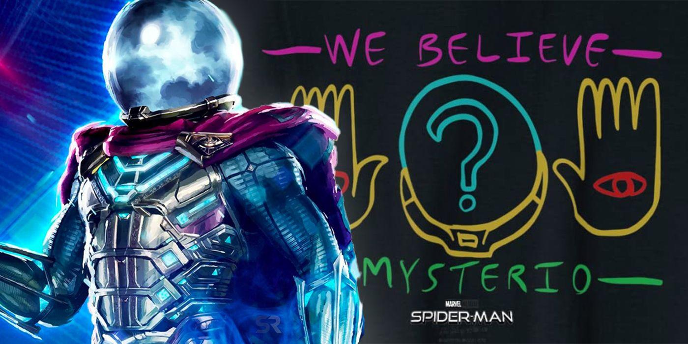 Spider-Man 3 Merch Reveals Mysterio Propaganda | Screen Rant