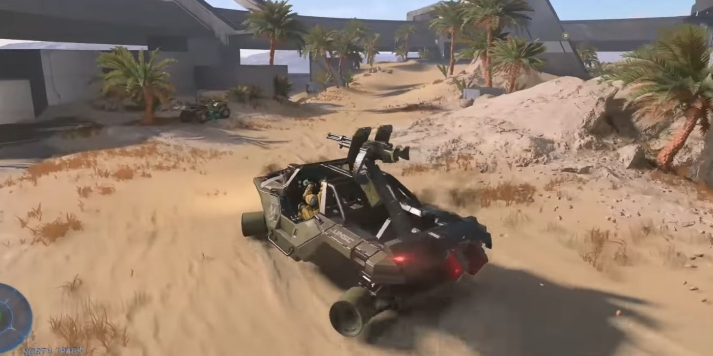 Halo Infinite's Warthog & Mongoose Can Still Drive Without Tires