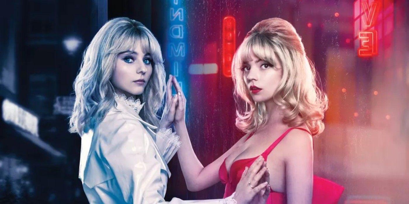 Last Night In Soho Images Show Anya Taylor-Joy & Thomasin McKenzie - Screen Rant