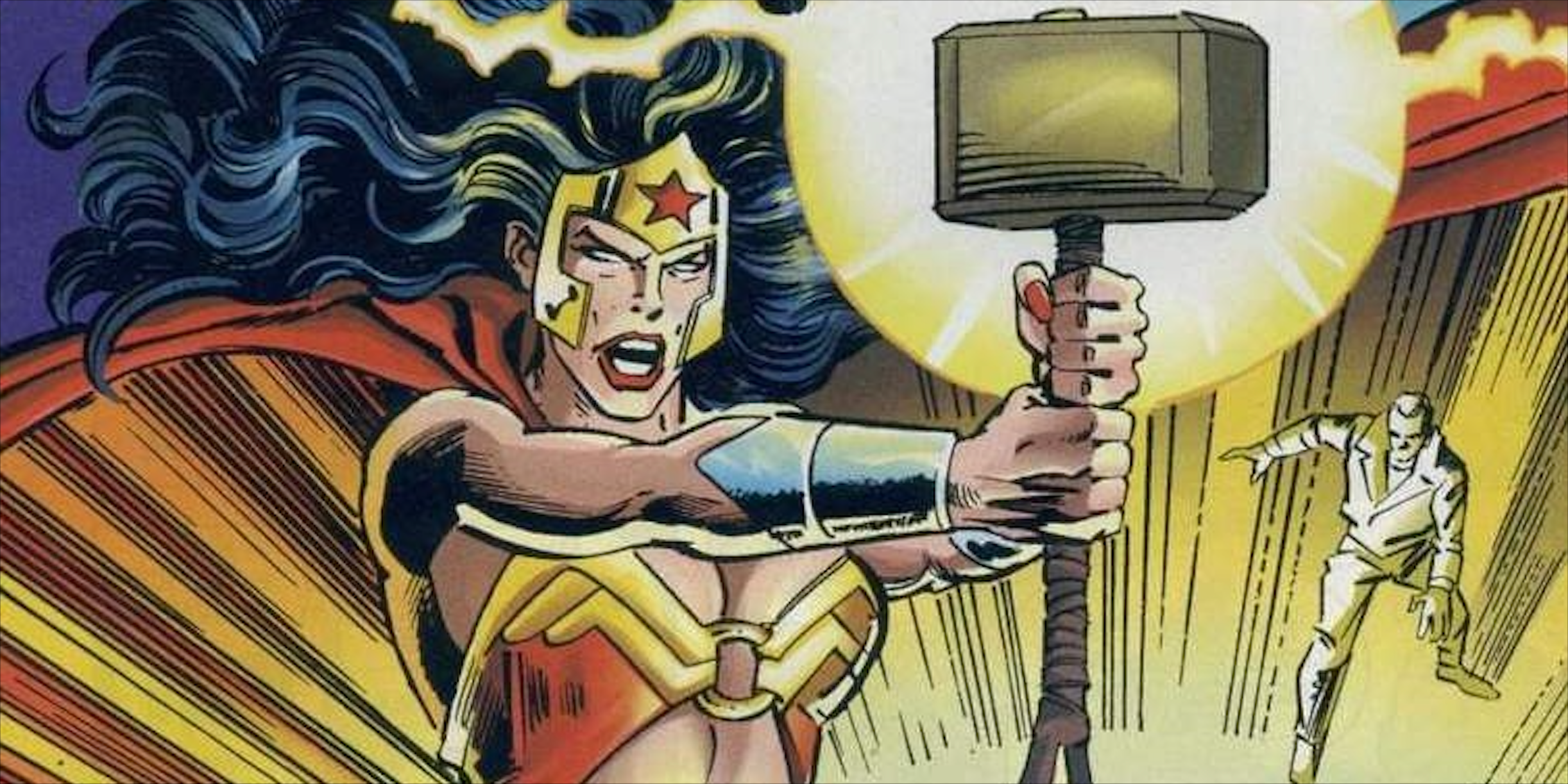 Wonder Woman s Most Powerful Form Came from Marvel s Mjolnir