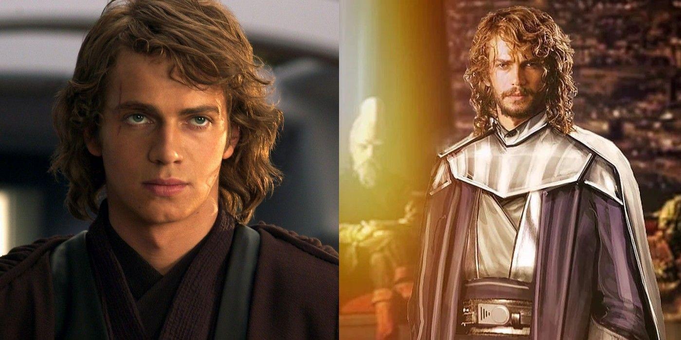 Star Wars Fan Art Imagines Light Side Anakin Skywalker