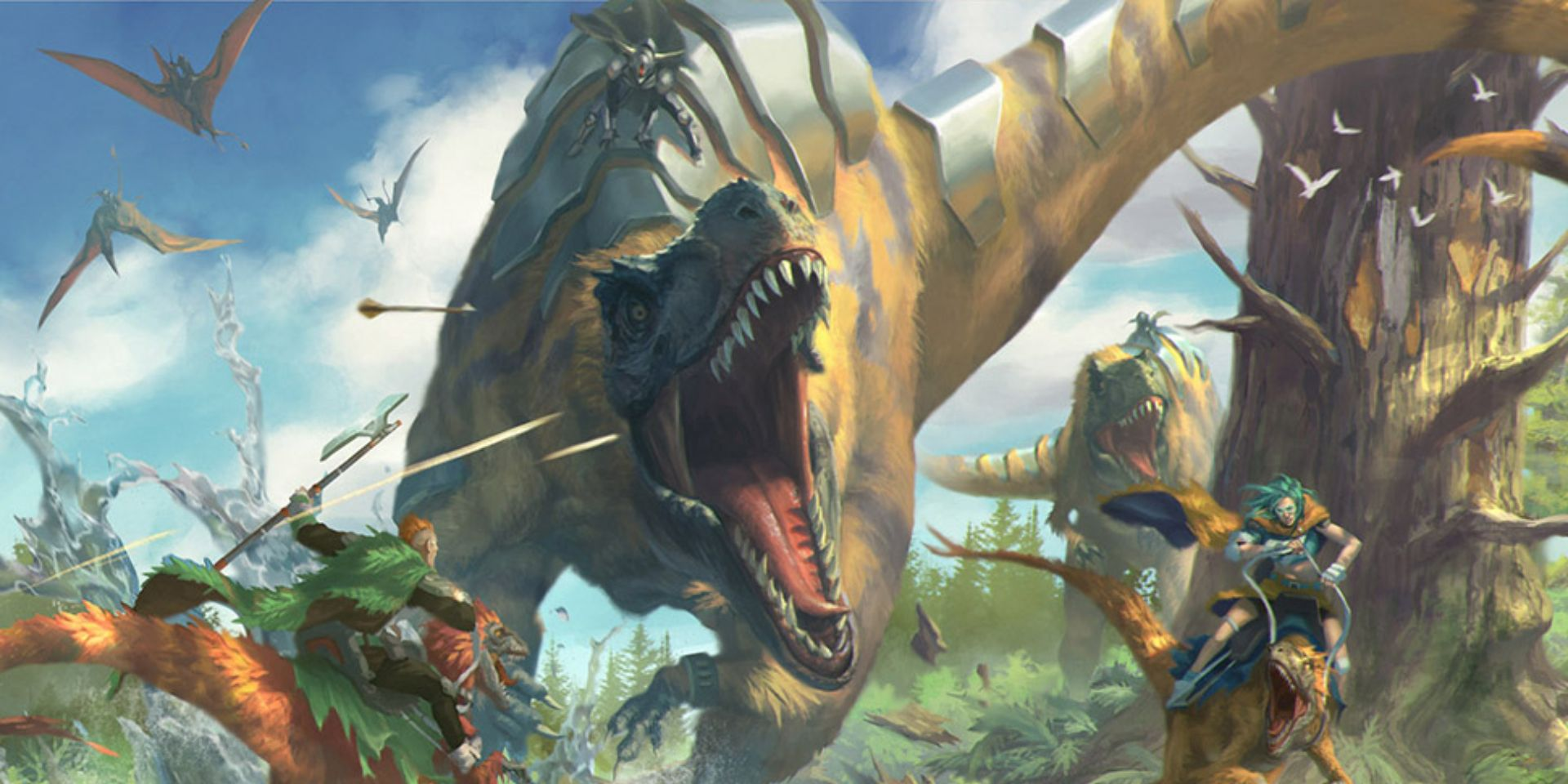 Dinosaur RPG games with Jurassic Park style settings