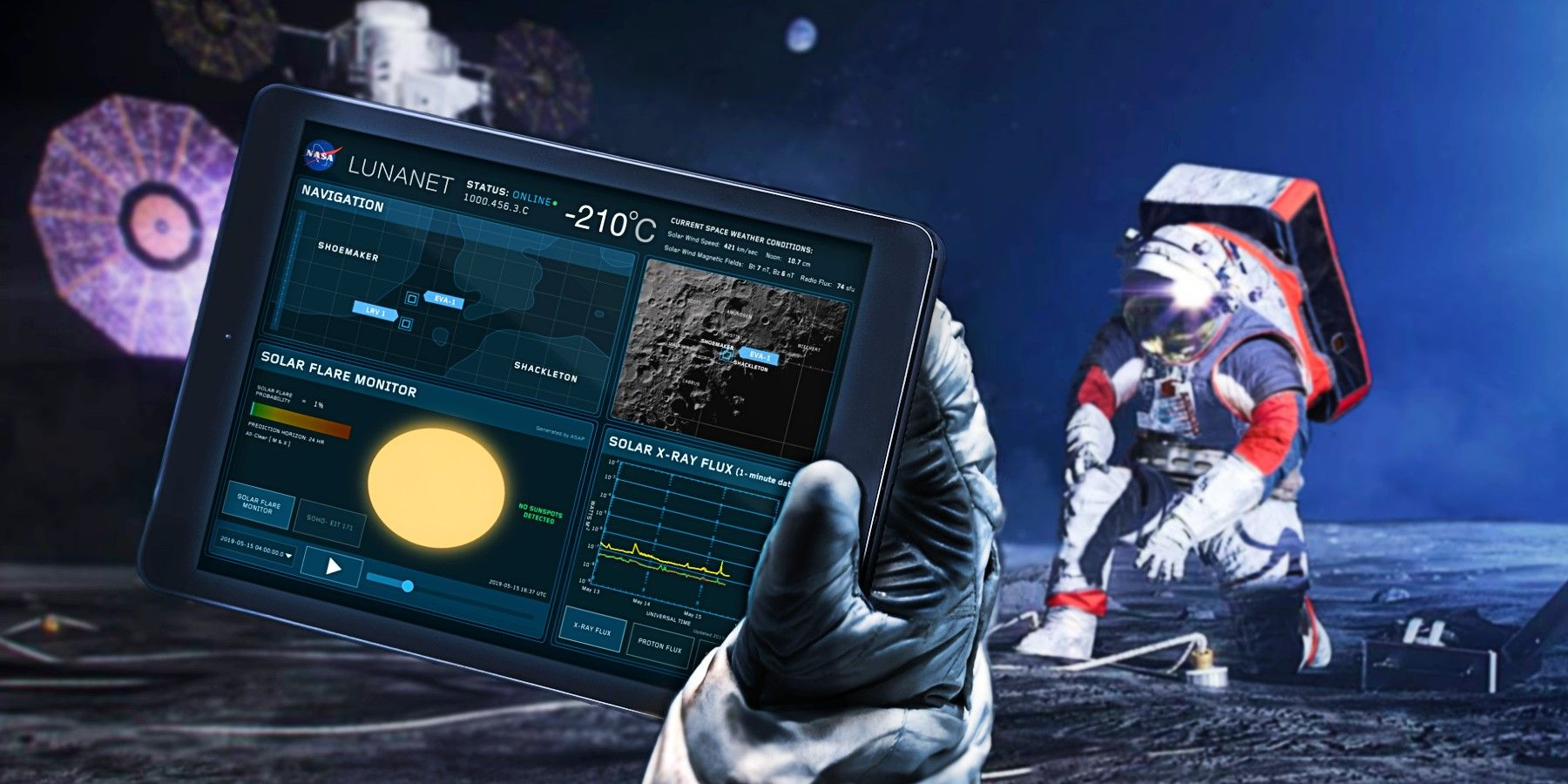 NASA Develops 'Internet' For The Moon And Beyond