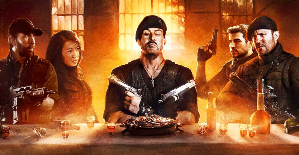 Sylvester Stallone edits Expendables 4 script during dinner