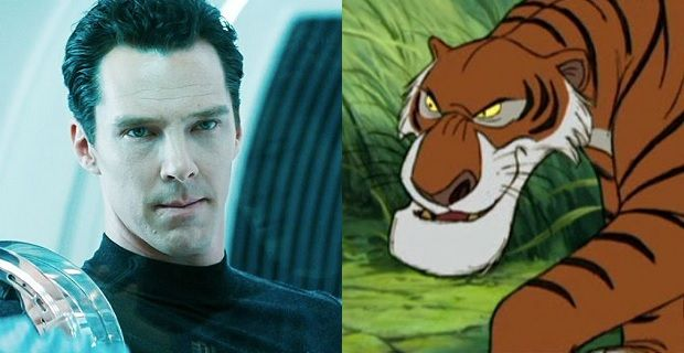 Benedict Cumberbatch to Play Shere Khan in 'The Jungle Book