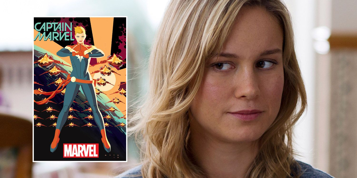 Brie Larson Is Top Contender For Captain Marvel Role Screenrant