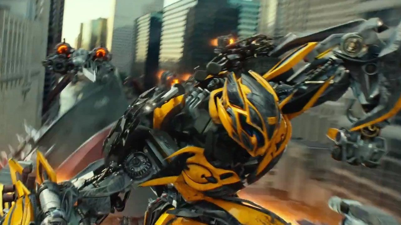 transformers michael bay reveals new look for bumblebee. Black Bedroom Furniture Sets. Home Design Ideas