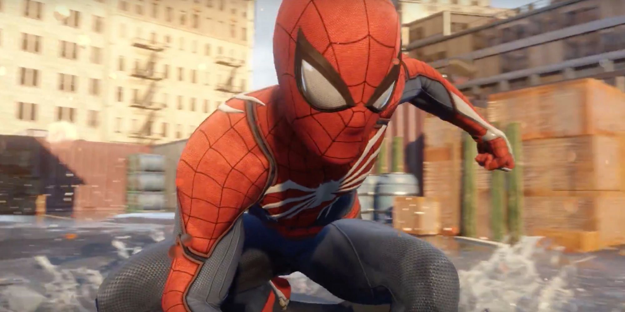 Games That Come With The Ps4 : Spider man ps game trailer peter parker meets insomniac