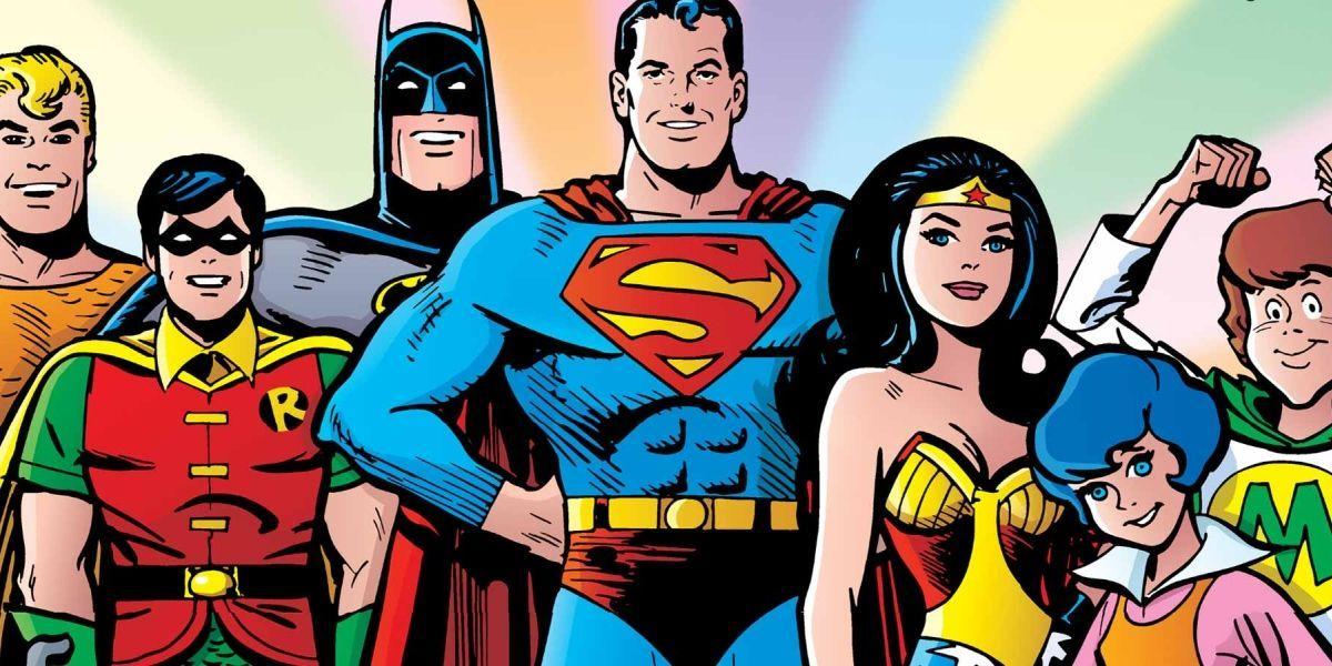 Super Friends Cartoon Art